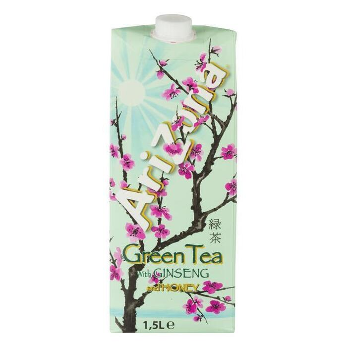 Arizona Original Green Tea with Honey (kartonnenpak, 1.5L)