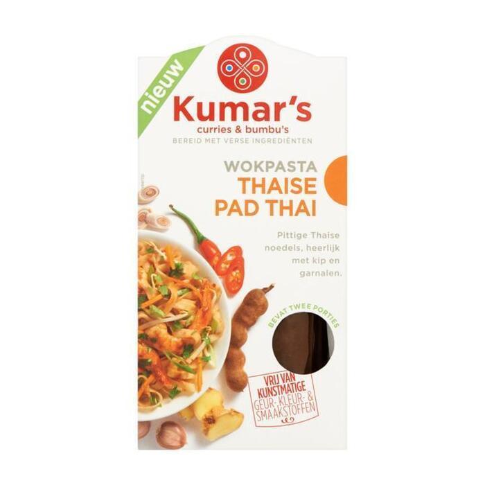 Kumar's Curries & Bumbu's Wokpasta Thaise Pad Thai 2 x 35ml (2 × 35ml)
