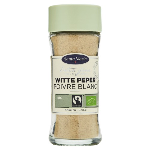 Santa Maria Witte Peper Bio Gemalen 38 g (38g)