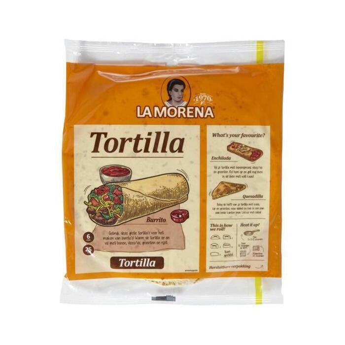 La Morena Tortilla wraps original (6 × 370g)