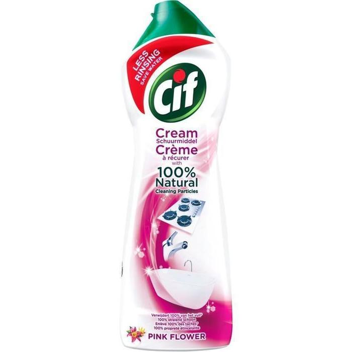 Cif Schuurmiddel Pink Flower Cream 750ml (0.75L)