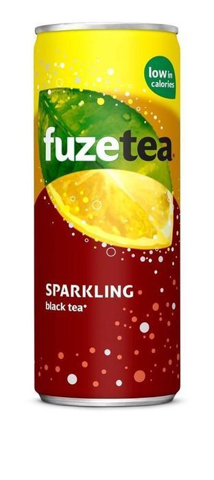 FUZE TEA SPARK BLACK 4P (250ml)