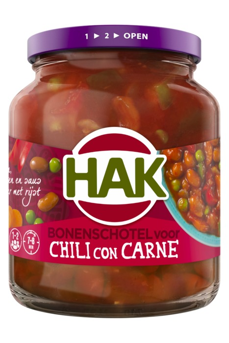 Bonenschotel voor Chili Con Carne (pot, 360g)