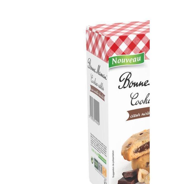 Bonne Maman Cookies sablés noisette (200g)