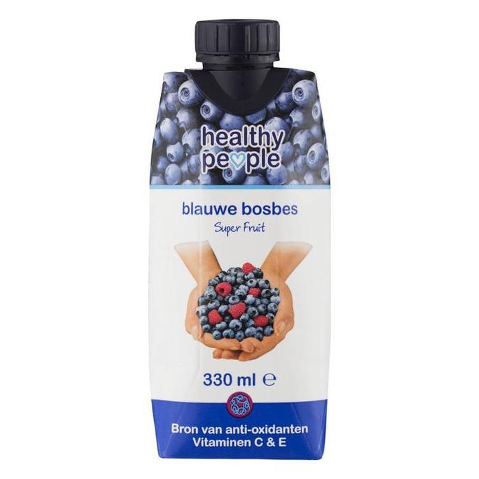 Healthy people, blauwe bosbes (pak, 33cl)