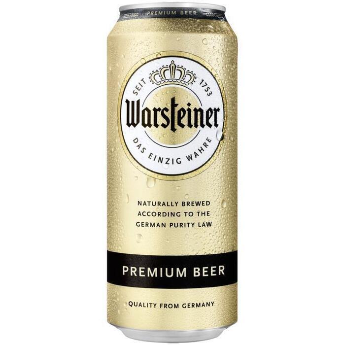 Warsteiner (rol, 0.5L)