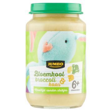 Jumbo Bloemkool Broccoli & Kaas 6+ Maanden 200g (200g)