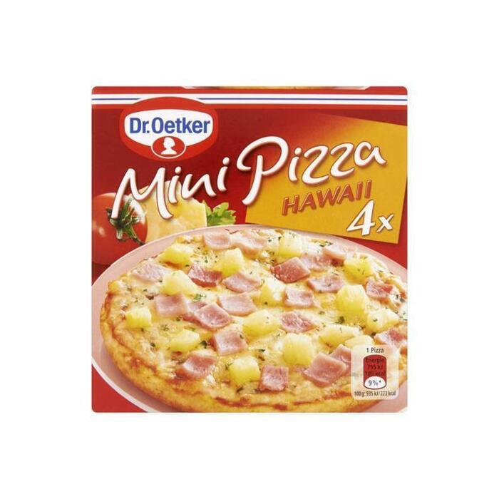 Dr. Oetker Mini Pizza Hawaii 4 Stuks 340g (4 × 80g)