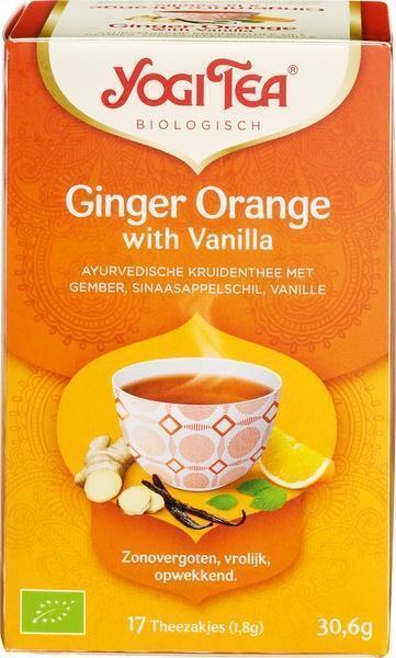 GInger Orange with Vanilla Biologisch (builtje, 1.8g)