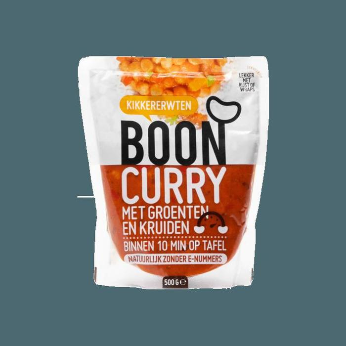 Boon Kikkererwten Boon Curry met Groenten en Kruiden 500g (500g)