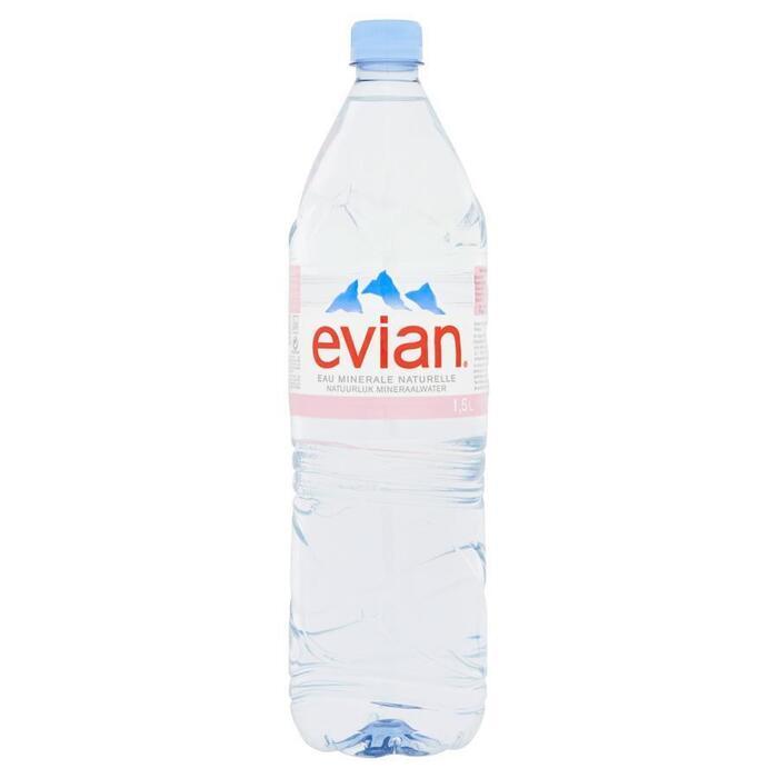 Evian natuurlijk mineraalwater (Stuk, 1.5L)
