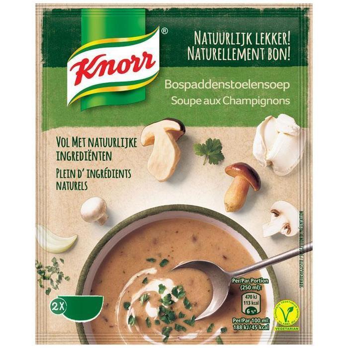 Knorr Bospaddenstoelen soep (57g)