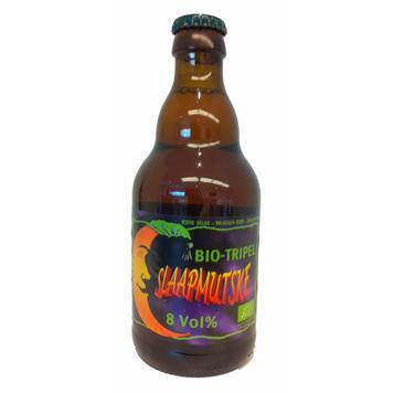 Slaapmutske bio tripel bier (33cl)