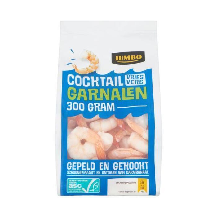 Jumbo Cocktail Garnalen 300g (300g)