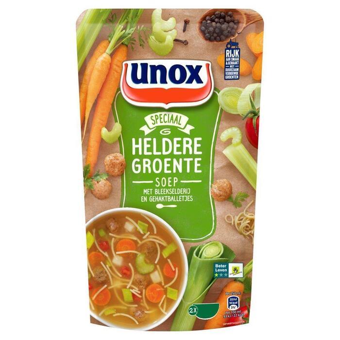 Unox Soep In Zak Groentesoep (0.57L)