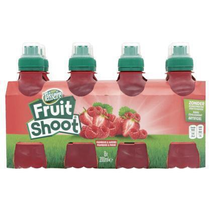 Fruit Shoot Framboos & Aardbei 8 x 200 ml (8 × 200ml)