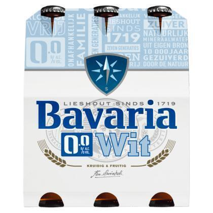 Bavaria 0.0% Premium witbier (rol, 180 × 30cl)