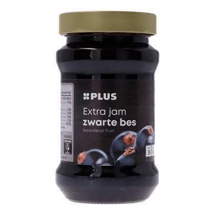 Extra zwarte bessenjam (450g)
