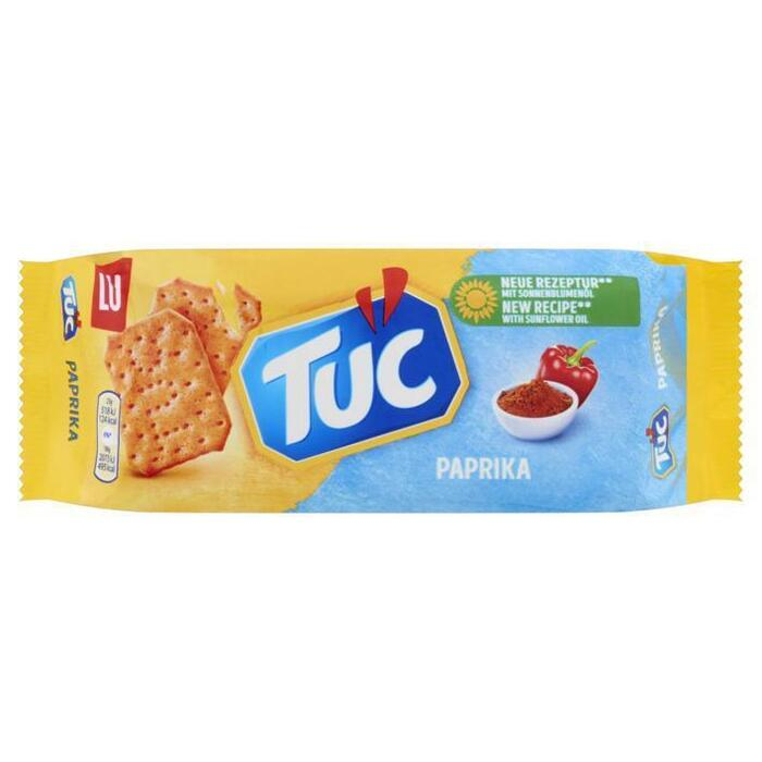 Tuc Crackers Paprika Zoutjes 100 g (Stuk, 100g)