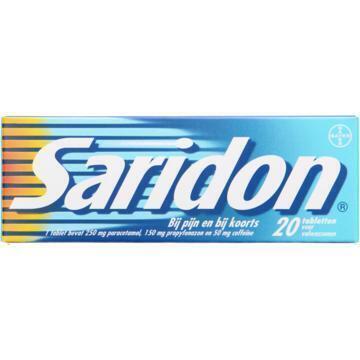 Saridon Tabletten 20 stuks