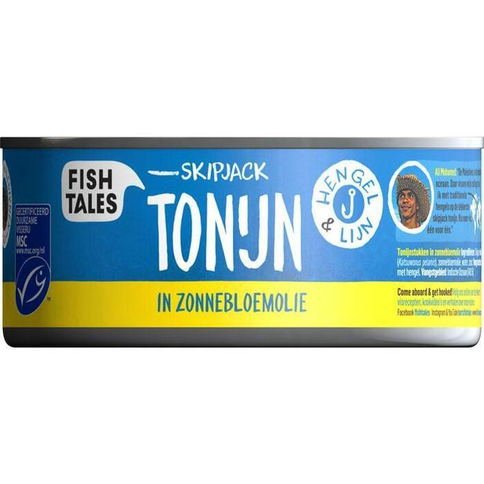 Ali's tonijn in zonnebloemolie (blik, 160g)