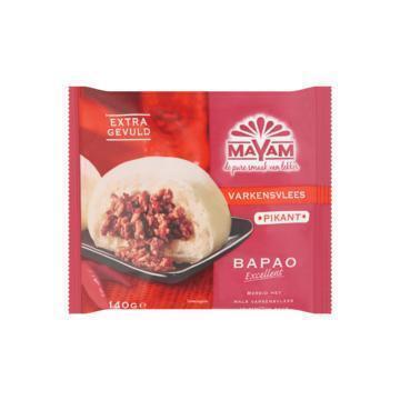 Bapao varkensvlees (Stuk, 140g)