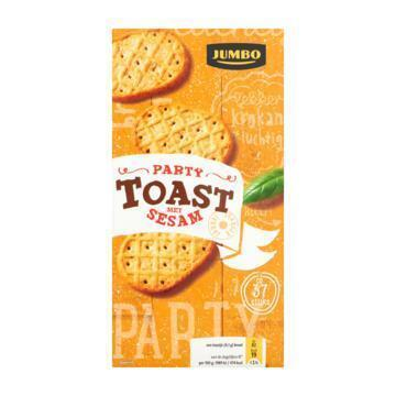 Jumbo Party Toast met Sesam 150 g (150g)