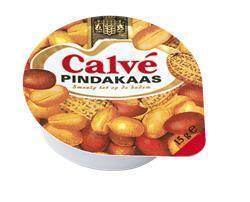 Calve Pindakaas 50x15G 4x (15g)