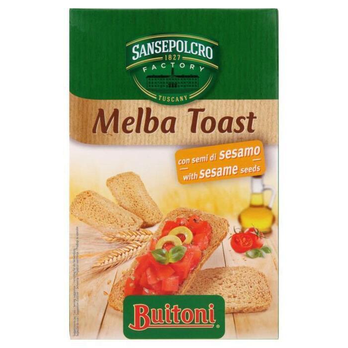 Melba Toast met Sesamzaad (100g)