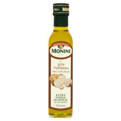 Extra Vierge Olijfolie met Witte Truffelaroma (glazen fles, 250ml)