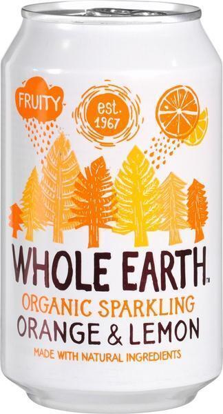 Sparkling orange & lemo (33cl)
