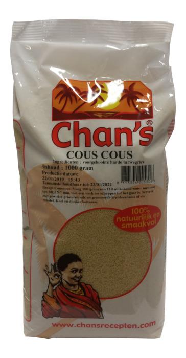 Chan's Couscous 1000g (1kg)