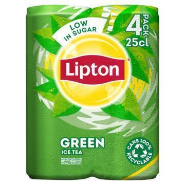 Lipton Ice Tea Green Original 4 x 250 ml (rol, 4 × 250ml)