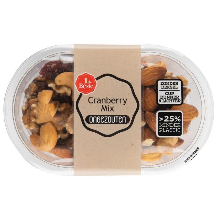 Cranberry mix ongezouten (150g)