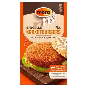 Kroket burger (4 × 80g)