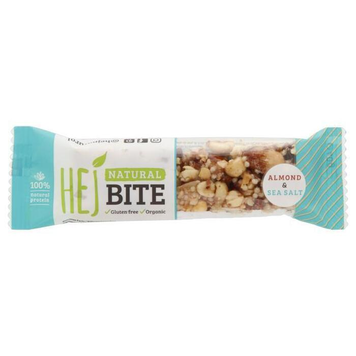 Hej Natural bite almond & sea salt bio (40g)