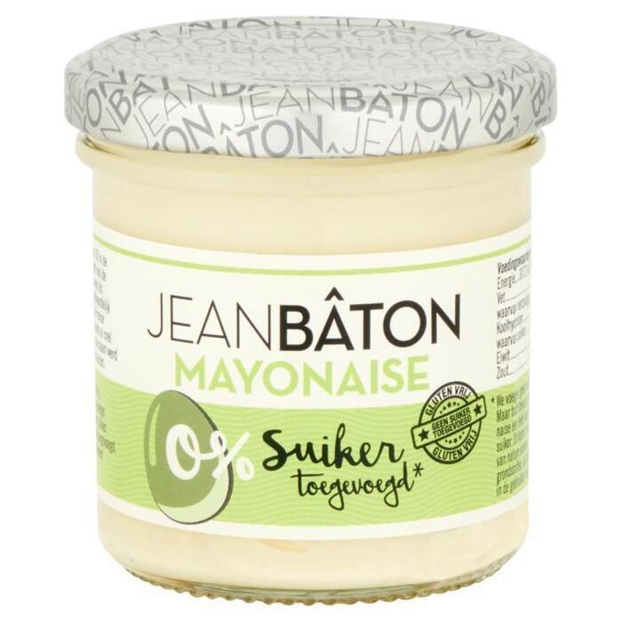 Jean Bâton Mayonaise zonder suiker 135 ml Pot (130g)