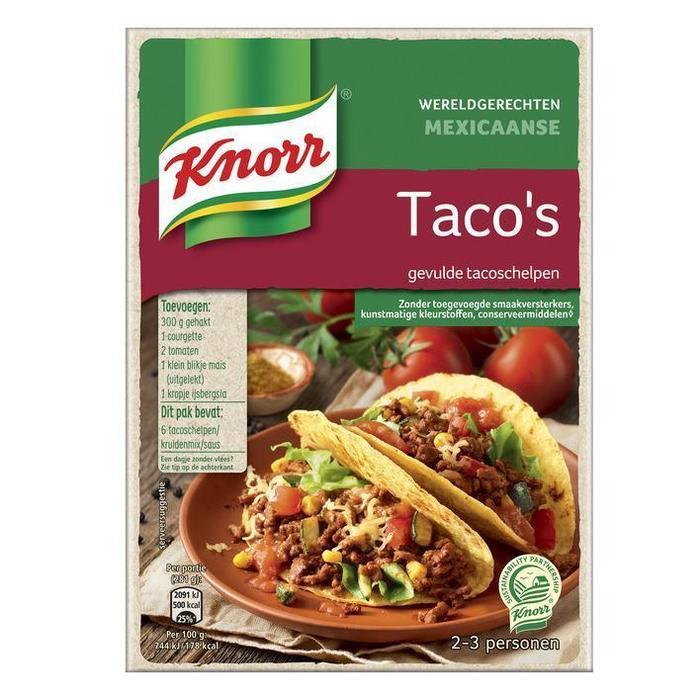 Mexicaanse Taco's (zak, 139g)