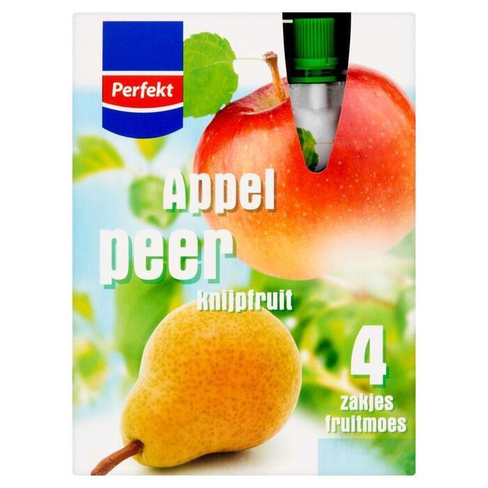 Appel Peer Knijpfruit (flacon, 400g)