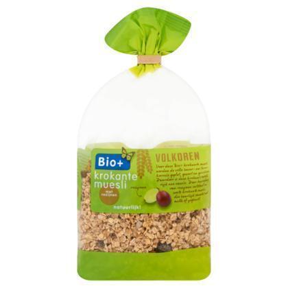 Krokante muesli met rozijnen (zak, 400g)