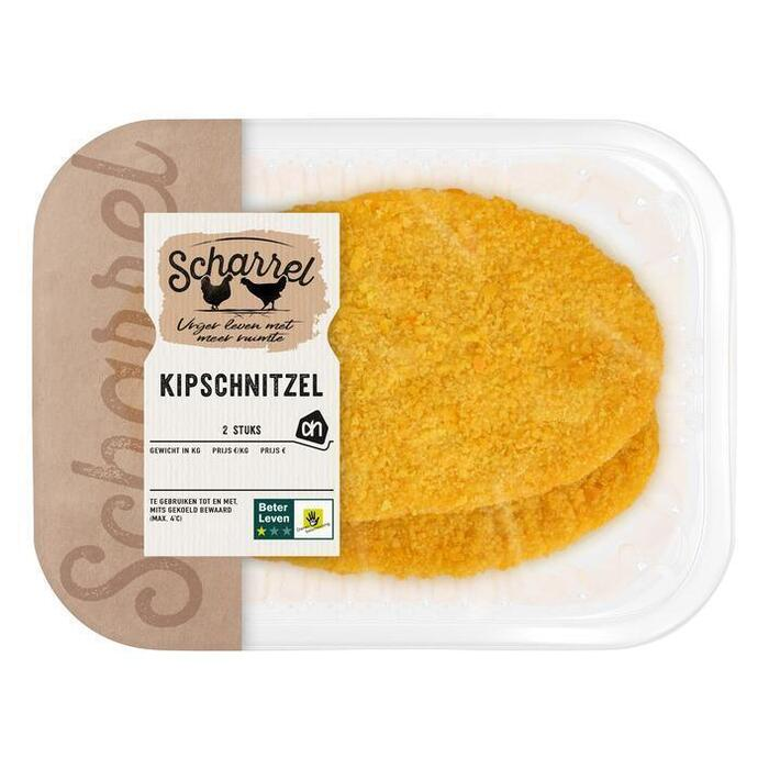 AH Scharrel kipschnitzel (2 × 120g)