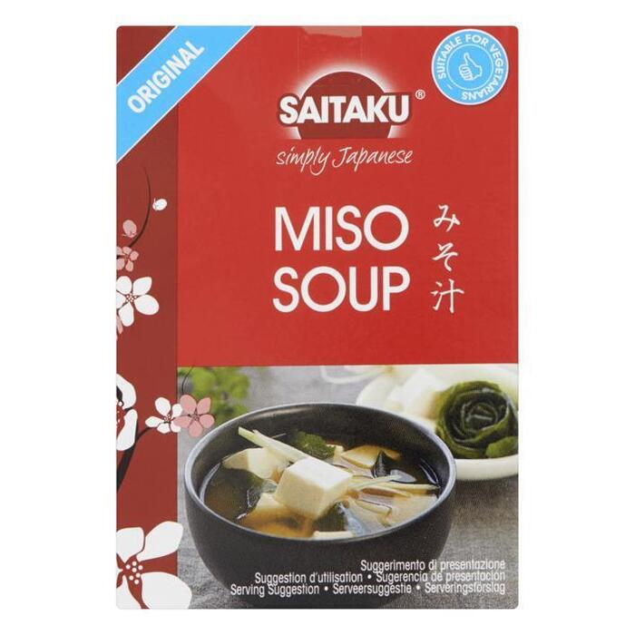 Saitaku Miso soup (4 × 72g)