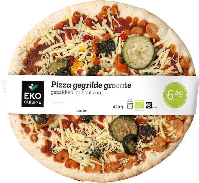 Pizza gegrilde groente (420g)