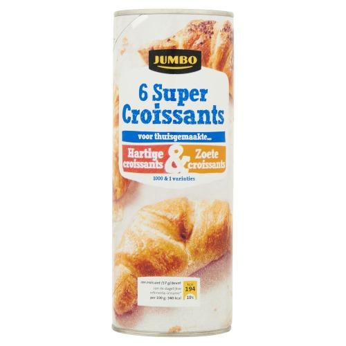 Jumbo Super Croissant 6 Stuks 340g (340g)