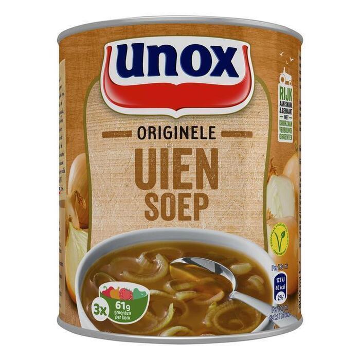 Unox Soep in blik stevige uiensoep (rol, 0.8L)