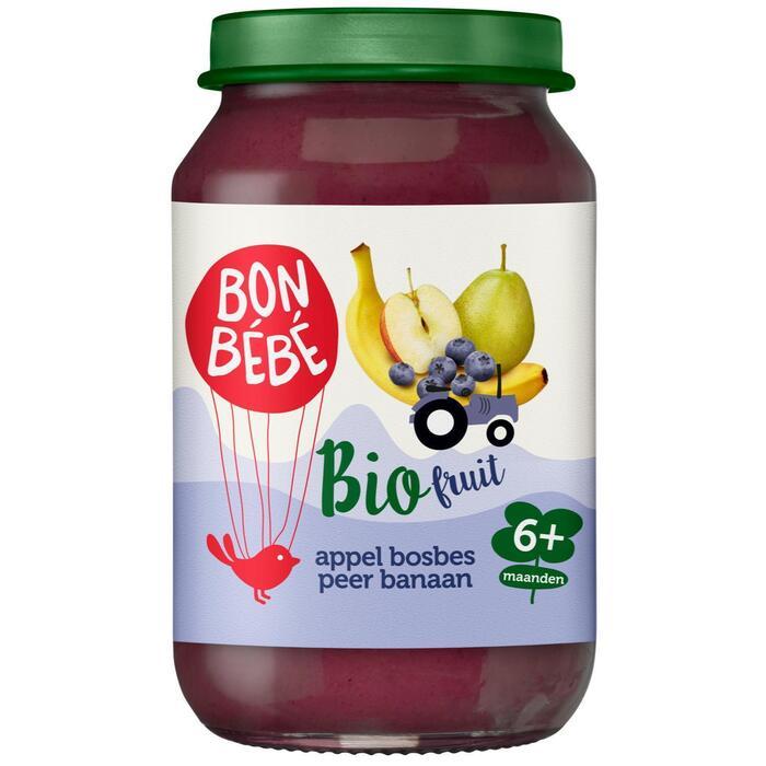 F0603 appel-bosbes-peer-banaan (200g)