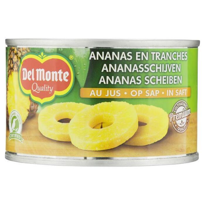 Del Monte Ananasschijven op sap (220g)