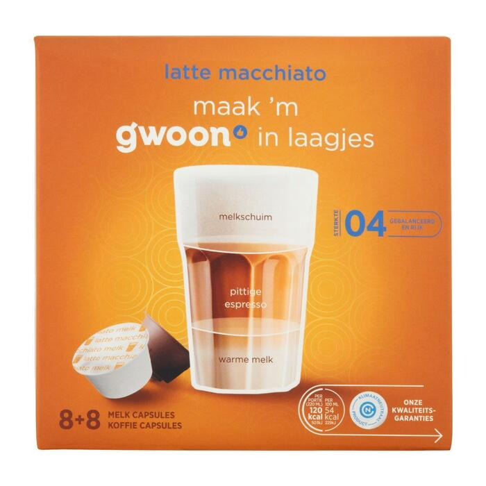 g'woon Dg cups latte macchiato