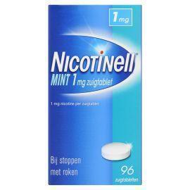 Nicotinell Zuigtablet Mint 1 mg 96 Stuks
