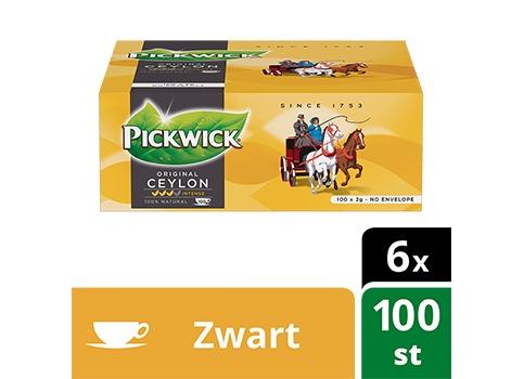 PICKWICK THEEZAKJES CEYLON        100X2G (100 × 2g)